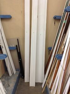 Various baseboard and trim