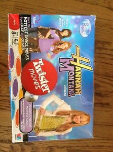 Hannah Montana Twister Moves Floor Game(Dance)$15.00