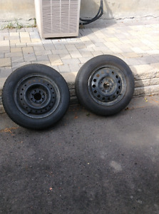 Two all season tires
