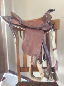 Pony saddle