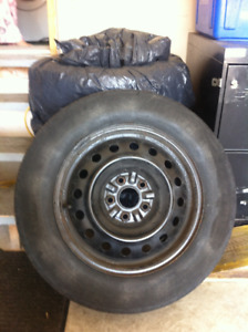 Toyota Sienna Tire and Rim