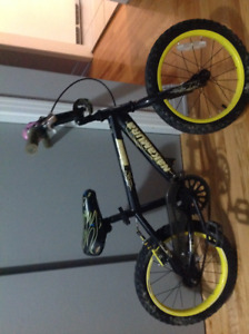 """Bicyclette 16""""  $25"""