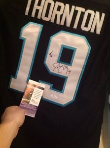 Thornton signed alternate with COA