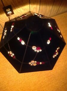 Hand Made Stained Glass Lamp $250.00