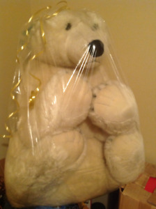 Huge 'Gund' Polar Bear teddy-bear...