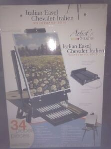 Italian easel...never used. Valued at over $150