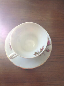 Antique (Made in China ) Rose Tea Cups