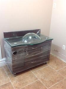 Gorgeous brand new bathroom vanity
