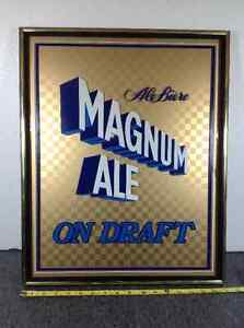 One rare Magnum Ale on Draft beer sign - price lowered Cambridge Kitchener Area image 1