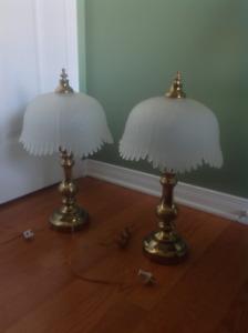superbes lampes vintage