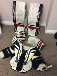 Goaltending equipment