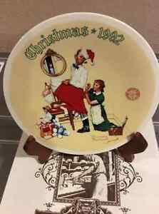 Bradford Christmas Plates