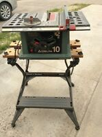 Delta table saw + stand