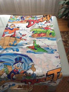 Fabric with Disney prints