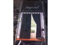 Imperial fully lined curtains.