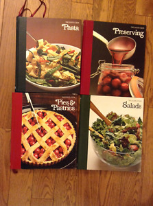"""""""THE GOOD COOK/TECHNIQUES AND RECIPES"""" COOKBOOKS"""