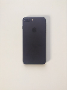 MATTE BLACK IPHONE 7+ 32GB GREAT CONDITION