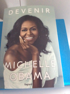 Livre Michelle Obama  15.00$