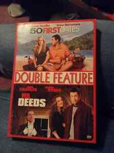 50 First Dates and Mr Deeds dvds