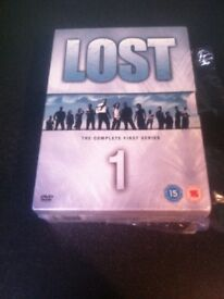 Complete DVD series of lost