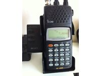 Icom icR-10 all mode scanner with active atenna