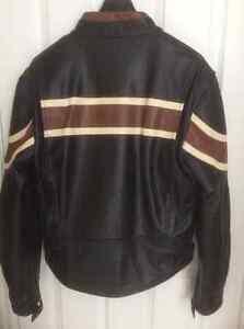 Men's Small Leather Biker Jacket Cambridge Kitchener Area image 2