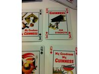 GUINNESS deck of iconic playing cards