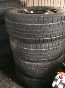 Winter tires on rims, Dunlop Graspic DS3