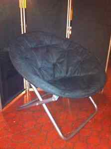 Ikea Cone chair(black with metal frame)  $45