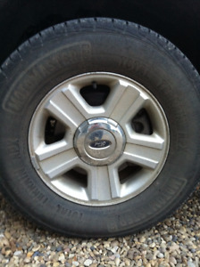 Ford F-150  265/70 - R17 Rims & tires