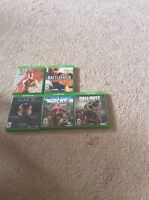 Xbox one games and an extra controller