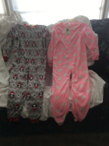 Pajamas Fleece - Size 6- NEW WITH TAGS - Pick Up In Thornhill