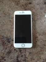 Iphone 6 16GB blanc/or avec Bell