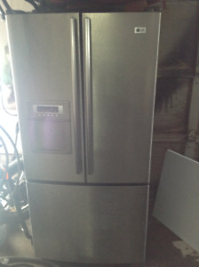 Fridge and stove set with warranty. Sold sold sold