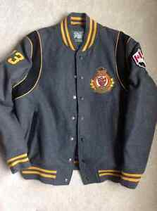 Roots lined jacket