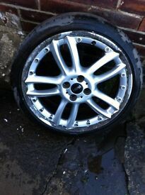 "Genuine BMW MINI BBS 18"" alloys"