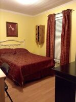 Fully furnished room for rent in beautiful downtown home