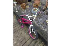 Pink intense custom bmx cheap look now