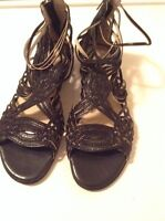 Brand New Leather Nine West Sandals!