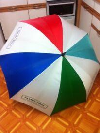 Giant Multi coloured Umbrella
