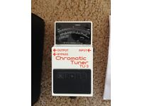 BOSS TU-3 Tuner Pedal (original box and manual)