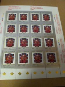Collection de timbre,du canada