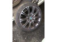 "BMW 18"" m-sport alloys (genuine)"