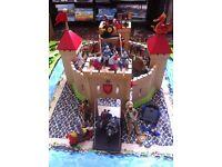 Children's wooden castle