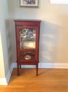 Small Curio Cabinet