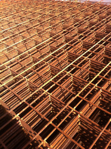 STEEL WIRE MESH FOR CONCRETE, REINFORCING MESH & REBAR!