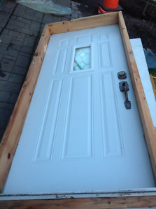 Door for outdoors