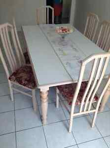 Kitchen table solid maple Italian home furniture sale