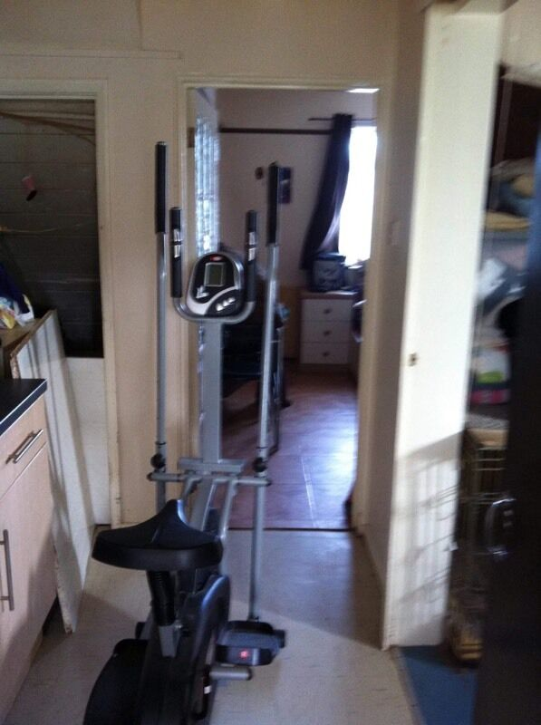 crosstrainer/exercise bikein Exeter, DevonGumtree - digital crosstrainer/exercise bike in perfect working order no longer req does come to bits to fit in car