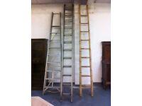 Abru Starmaster ladders 6.6 m + other ladders
